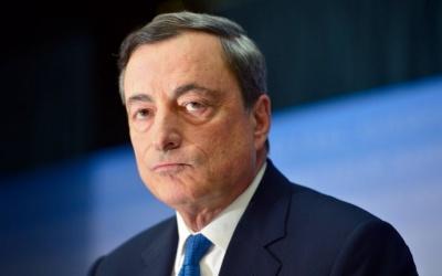 Draghi: Άνω των 42 τρισ. ευρώ το ενεργητικό του σκιώδους τραπεζικού συστήματος στην Ευρώπη