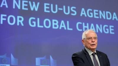 Borrell (ΕΕ): Η Ευρώπη καλεί τις ΗΠΑ να ηγηθούν της παγκόσμιας μάχης κατά της πανδημίας