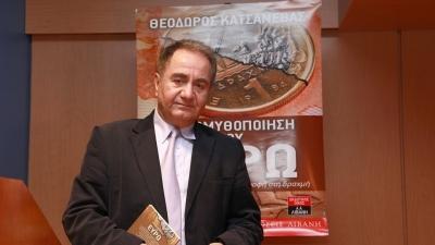 Διασωληνώθηκε ο Θεόδωρος Κατσανέβας - Έχει διαγνωστεί θετικός στον κορωνοϊό