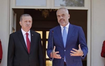 Αλβανία: Προεκλογική παρέμβαση Erdogan υπέρ του Rama