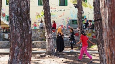 Λέσβος: Κλείνει η δομή φιλοξενίας στο ΠΙΚΠΑ στη Νεάπολη Μυτιλήνης