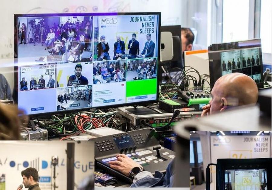 iMEdD -  Journalism Forum: Reflect, Reform, Restart - Η επανεκκίνηση της Δημοσιογραφίας