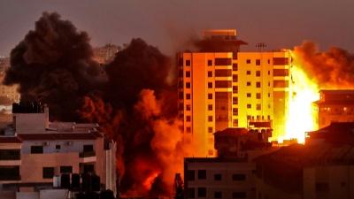 Τουλάχιστον 70 νεκροί από την Δευτέρα μετά το ξέσπασμα εχθροπραξιών μεταξύ Χαμάς και Ισραήλ