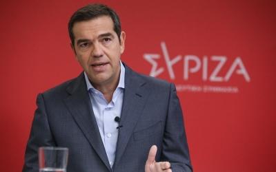Τσίπρας: Στρατηγική επιλογή η προοδευτική συμμαχία για την εκλογική νίκη