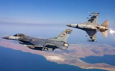 Υπερπτήσεις τουρκικών F-16 πάνω από το Φαρμακονήσι και το Αγαθονήσι