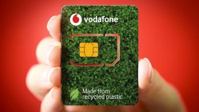 «Πράσινες» οι νέες κάρτες SIΜ της Vodafone