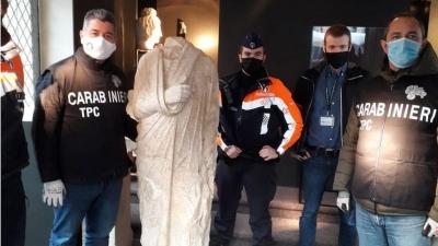 Κλεμμένο ρωμαϊκό άγαλμα αξίας 100 χιλ. ευρώ βρέθηκε μετά από 10 χρόνια σε κατάστημα με αντίκες στις Βρυξέλλες