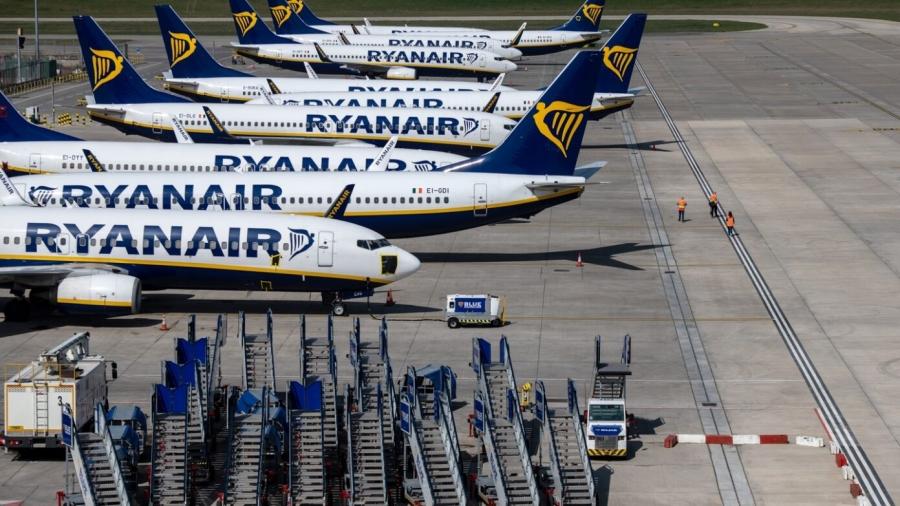 Νέα εφαρμογή της Ryanair για πιστοποιητικά εμβολίου και αρνητικές δοκιμές PCR