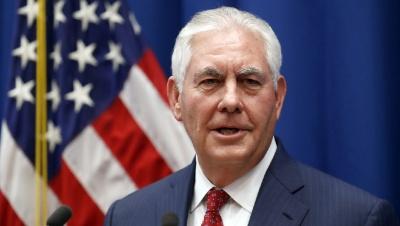 Tillerson (Αμερικανός ΥΠΕΞ): Είμαι υπερήφανος για τη διπλωματία των ΗΠΑ