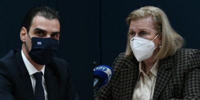 Θεοδωρίδου: Η μεγαλύτερη επιχείρηση μαζικού εμβολιασμού βρίσκεται σε εξέλιξη - Στους 9.528 οι εμβολιασμοί στην Ελλάδα