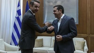 Έτος μεγάλων προκλήσεων το 2021 για Μητσοτάκη, Τσίπρα - Ο πιο ευφυής πολιτικά παίρνει το πάνω χέρι για τις ... επόμενες εκλογές