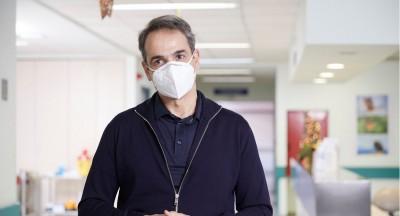 Εμβολιάστηκε ο Μητσοτάκης: Είναι μία σπουδαία ημέρα για την επιστήμη και την ΕΕ - Απολύτως ασφαλές το εμβόλιο