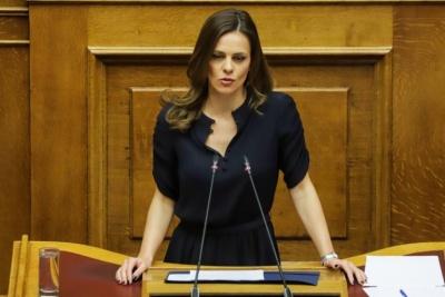 Αχτσιόγλου: Οι εξαγγελίες Μητσοτάκη για τα εργασιακά συνιστούν σαφή επιστροφή σε μνημόνιο