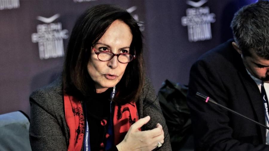 Στην τελική πεντάδα υποψηφίων για επικεφαλής του ΟΟΣΑ η Άννα Διαμαντοπούλου