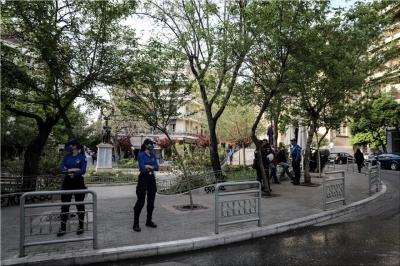 Ξανά στην Κυψέλη η ΕΛ.ΑΣ για την αποφυγή κροωνοπάρτι - Πορεία διαμαρτυρίας από... τους αντιεξουσιαστές