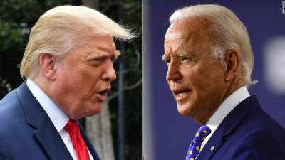 Δημοσκοπήσεις ΗΠΑ: Διευρύνει το προβάδισμα ο Biden στις 9,2 μον. ή 51,3% με Trump 42,1%