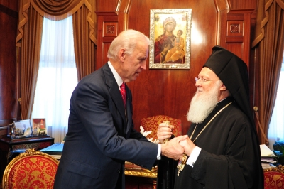 Ενδιαφέρον Biden για την υγεία του Οικουμενικού Πατριάρχη που διακομίστηκε εσπευσμένα στο νοσοκομείο