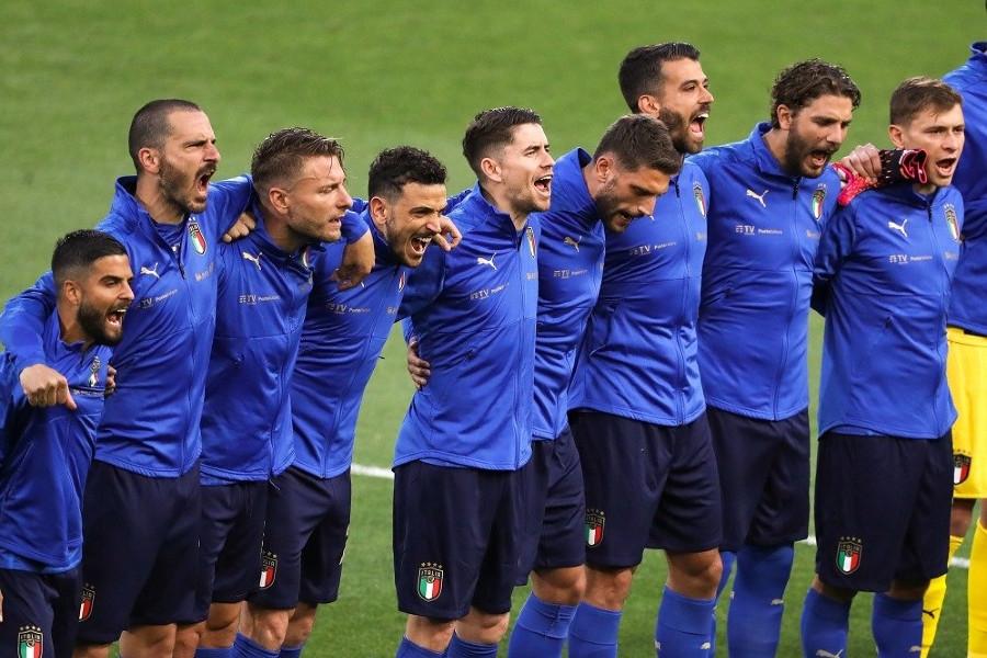 Για τους Ιταλούς η πιο ιερή στιγμή είναι αυτή που ακούγεται ο εθνικός ύμνος...