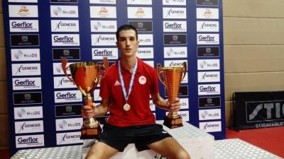 Πινγκ Πονγκ: Νέος πρωταθλητής Ελλάδας στο απλό ανδρών ο Σταματούρος, 4ος τίτλος για την Τόλιου στο απλό γυναικών