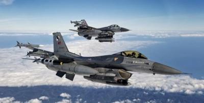 Δεκάδες παραβιάσεις, υπερπτήσεις και εμπλοκές ελληνικών και τουρκικών μαχητικών στο Αιγαίο