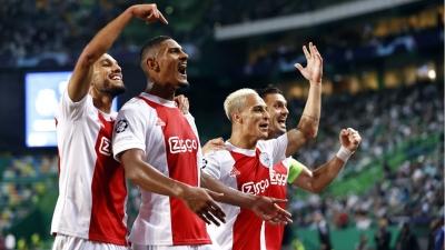 Champions League, Σπόρτινγκ Λισαβόνας – Άγιαξ 1-5: Ο Αλέ «σκόρπισε» στους πέντε ανέμους τους Πορτογάλους, με… τεσσάρα στο ντεμπούτο του! (video)