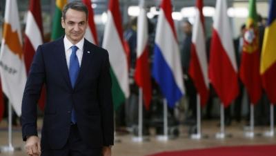 Στις Βρυξέλλες για τη Σύνοδο Κορυφής ο Μητσοτάκης – Στο επίκεντρο ενεργειακή κρίση, μεταναστευτικό και ανατ. Μεσόγειος