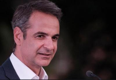 Αισιόδοξος ο Μητσοτάκης για την επαναλειτουργία της αγοράς στη Θεσσαλονίκη - Η βόλτα του πρωθυπουργού