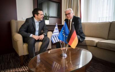 Τσίπρας: Η Συμφωνία των Πρεσπών είναι ένα θαρραλέο βήμα και μοντέλο συνεννόησης - Steinmeier: Είμαστε στο πλευρό σας