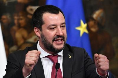 Salvini: Ζητά παραίτηση Conte και κυβέρνηση εθνικής ενότητας, λόγω κορωνοϊού
