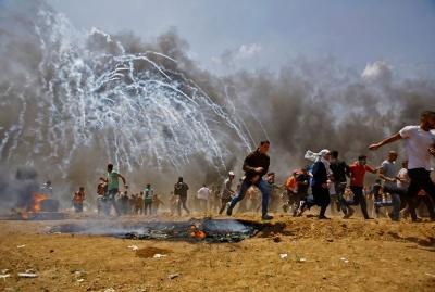 Στους 59 οι νεκροί από τα επεισόδια στη Λωρίδα της Γάζας – Απεβίωσε βρέφος 8 μηνών