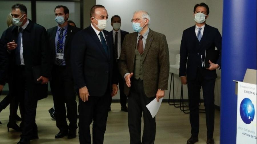 ΕΕ: Borrell και Cavusoglu (Τουρκία) συζήτησαν της εξελίξεις με έμφαση στην Ανατολική Μεσόγειο