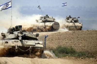 Ο ισραηλινός στρατός ενισχύει τις μεραρχίες του στη Δυτ. Όχθη και στα σύνορα της Λωρίδας της Γάζας