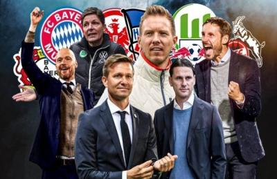 Αλλαγές προπονητών Top επιπέδου στην Bundesliga