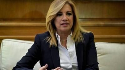 Γεννηματά: Άπραγη η κυβέρνηση παρακολουθεί την ταλαιπωρία των πολιτών στον ΕΦΚΑ