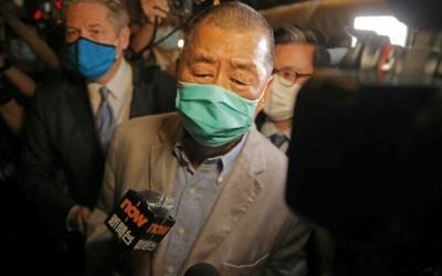 Χονγκ Κονγκ: Αφέθηκε ελεύθερος ο μεγιστάνας του Τύπου Jimmy Lai