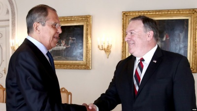 Πρωτοβουλίες για την εξομάλυνση των σχέσεων Ρωσίας - ΗΠΑ συμφώνησαν να αναλάβουν Lavrov και Pompeo