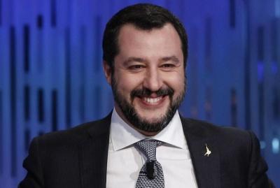 Ιταλία: Όρους για να στηρίξει μια μεταβατική κυβέρνηση θέτει ο ηγέτης της Λέγκα, M. Salvini