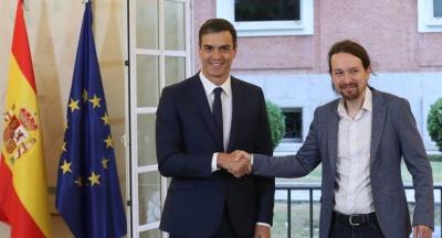 Ισπανία: Κοντά στον σχηματισμό κυβέρνησης με το Podemos ο Sanchez – Ποια υπουργεία ζητεί ο Iglesias