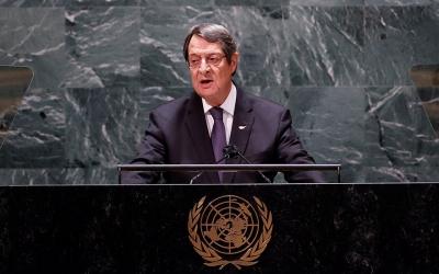 Κύπρος: Επιστολή Αναστασιάδη σε Guterres (ΟΗΕ) για τις έκνομες τουρκικές ενέργειες σε Αμμόχωστο και ΑΟΖ