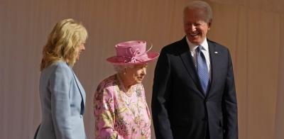 Η Βασίλισσα Ελισάβετ εντυπωσίασε τον Joe Biden: «Μου θυμίζει την μητέρα μου»
