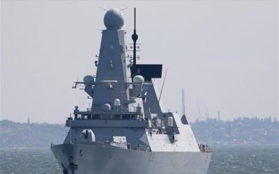 Γεωργία: Το βρετανικό αντιτορπιλικό Defender έδεσε στη Μαύρη Θάλασσα - Με προειδοποιητικά πυρά απάντησε η Ρωσία