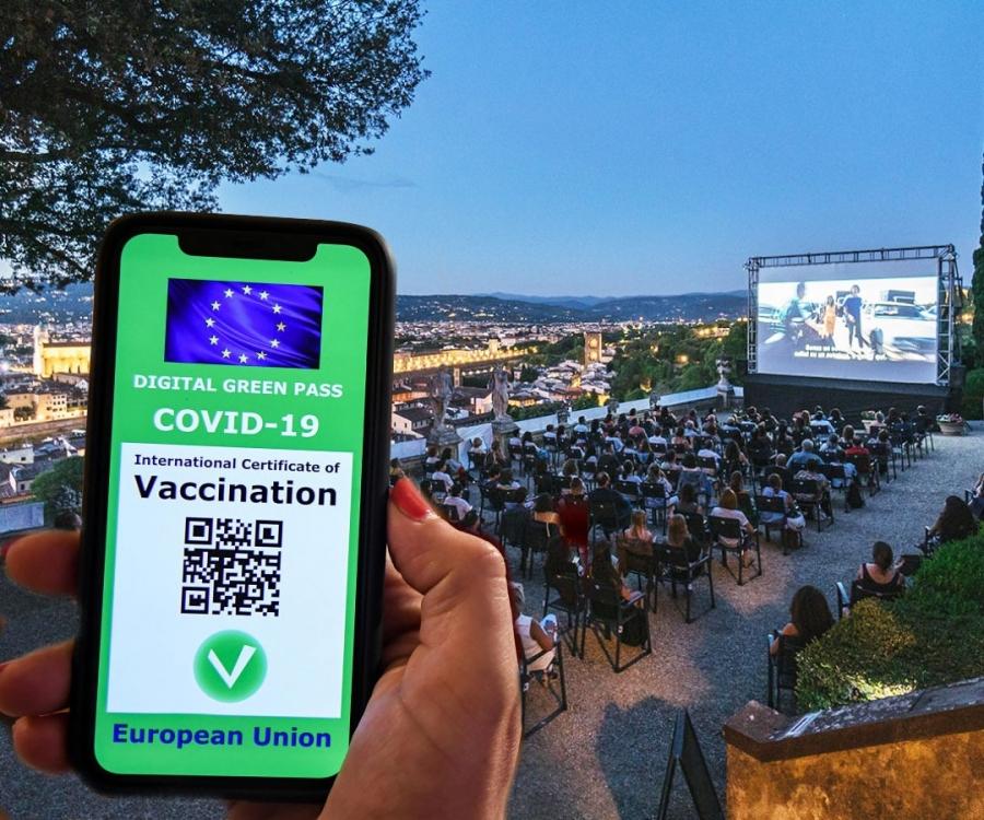 Ιταλία: Υποχρεωτικό σε όλους τους χώρους εργασίας το πράσινο πάσο εμβολιασμένου για την Covid