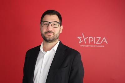 Ηλιόπουλος: Η κυβέρνηση Μητσοτάκη σαμποτάρει τους εμβολιασμούς - Όχι σε απειλές για απολύσεις