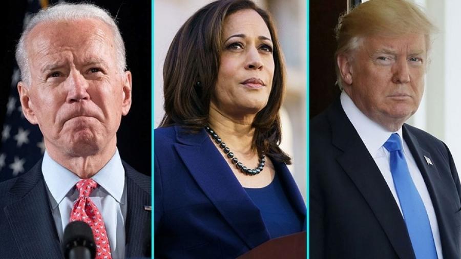 ΗΠΑ: Φαβορί για τις εκλογές του 2024 η Kamala Harris - Προηγείται του Biden και του Trump