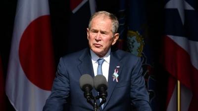 George W. Bush (ΗΠΑ): Οι εγχώριοι δεξιοί εξτρεμιστές αποτελούν τον ίδιο κίνδυνο με τους ξένους τρομοκράτες της 11ης Σεπτεμβρίου