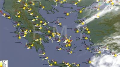 ΕΜΥ: Αλλάζει το σκηνικό του καιρού, με βοριάδες και πτώση της θερμοκρασίας η Κυριακή 9 Μαΐου