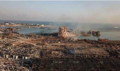 Ισοπεδώθηκε η μισή Βηρυτός από δύο εκρήξεις 2.750 τόνων νιτρικής αμμωνίας, ισοδύναμες με 4,5 Ρίχτερ - Πάνω από 100 νεκροί και 4.000 τραυματίες - Στα 3 δις δολάρια το κόστος