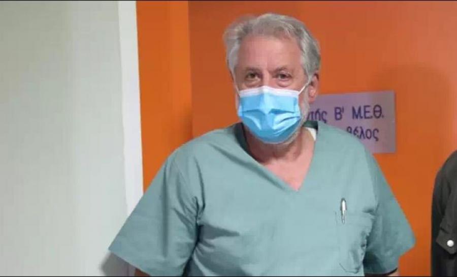 Καπραβέλος: Μεγάλη η διασπορά του κορωνοϊού – Μας ανησυχεί το ρήγμα στο τείχος ανοσίας