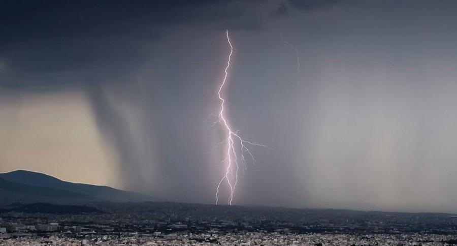 Έκτακτο δελτίο επιδείνωσης του καιρού - Έρχονται καταιγίδες και χαλάζι