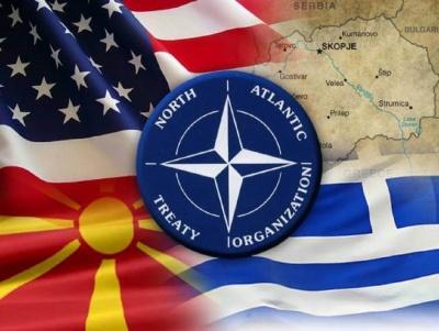 Επιστολή ένταξης στο ΝΑΤΟ έλαβε η FYROM, τέσσερις μέρες μετά τη συμφωνία στις Πρέσπες